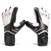 Hot Goalkeeper Goalie Keeper GK Gloves Finger Protect Soccer Size 7 8 9 10