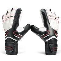 Hot Goalkeeper Goalie Keeper GK Gloves Finger Protect Soccer Size 7 8 9 10
