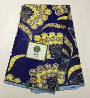 2017 Real Cotton Wax Print Fabric BEST Quality Nigerian Wax Super Wax Textile African Wax For