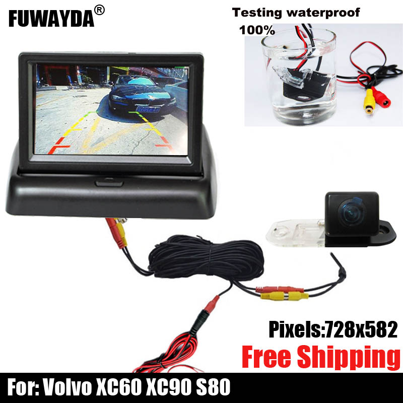 car camera!! SONY CCD Chip CAR REAR VIEW REVERSE Backup Parking Safety CAMERA FOR VOLVO S80 S40L S80L XC60 XC90 S40 C70|car rear view reverse|car rear reverse camera|reverse backup camera - title=
