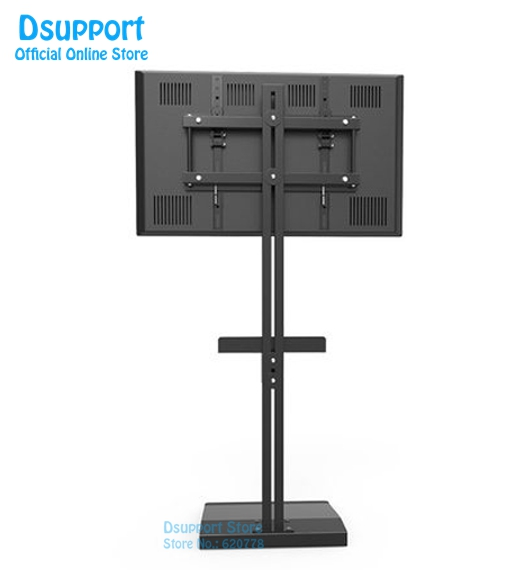 Dsupport 32-70 LCD LED TV cabinet/ Floor Stand Mount Computer Monitor Holder Display French TV Bracket TD513 series full motion lcd monitor holder computer display mount bracket fit for w o vesa display aoe apple samsung all in one computer