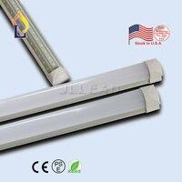 10 шт./лот 4FT 5FT 6FT 8FT 40 Вт-60 Вт T8 светодиодные трубки встроенный V-образный освещения США складской запас лампа с лучшей цене
