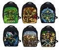 Anime Teenage Mutant Ninja Turtles Backpack TMNT Children School Bags Boys United Mutants Student School Kids Kindergarten Bag