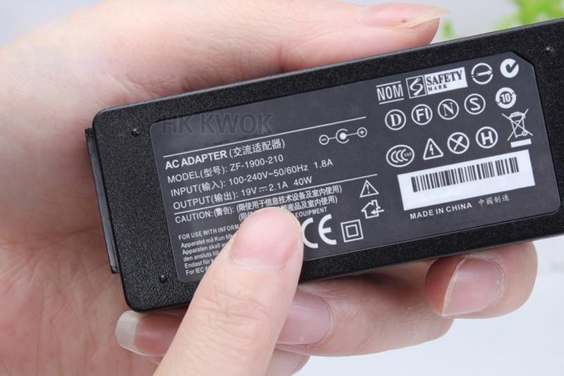 19V 2.1A maiņstrāvas adapteris klēpjdatoru lādētājs asus EeePC - Klēpjdatoru piederumi - Foto 3