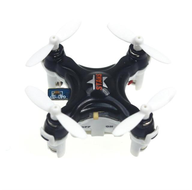 Q16244/7 Mini Drone CX-STARS 2.4G 4CH RC Quadcopter RTF Remoto Control de Regalo Helicóptero Juguetes vs CX10 FQ777 Headless Modo Más Pequeño FS