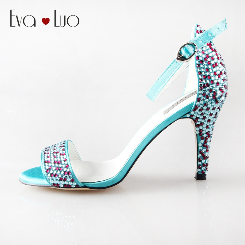 Online Get Cheap Turquoise Strappy Heels -Aliexpress.com | Alibaba ...