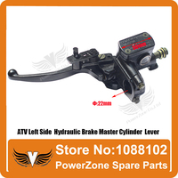 ATV Left Hydraulic Rear Brake Master Cylinder Lever Fit To 50cc 110cc 125cc 150cc 250cc ATV