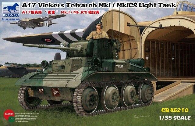 Bronco CB35210 1/35 A17 Vickers tetrarca mk. I / mk. Ics tanque