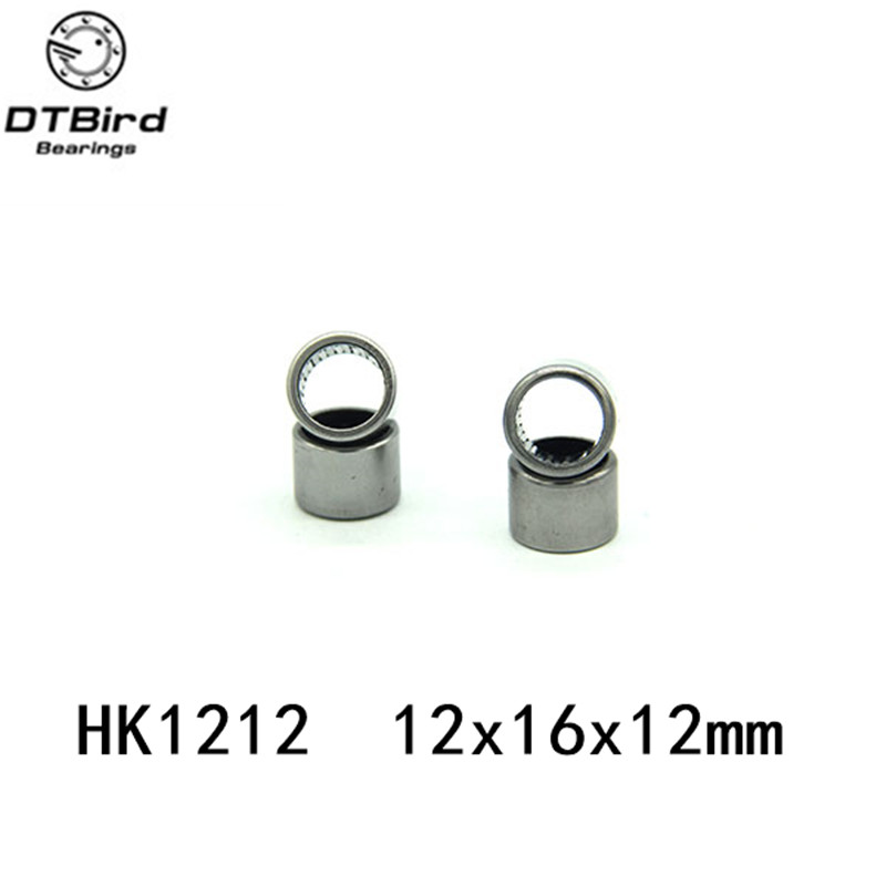 Free Shipping HK1212 12*16*12mm  67941/12 Drawn cup needle roller bearing