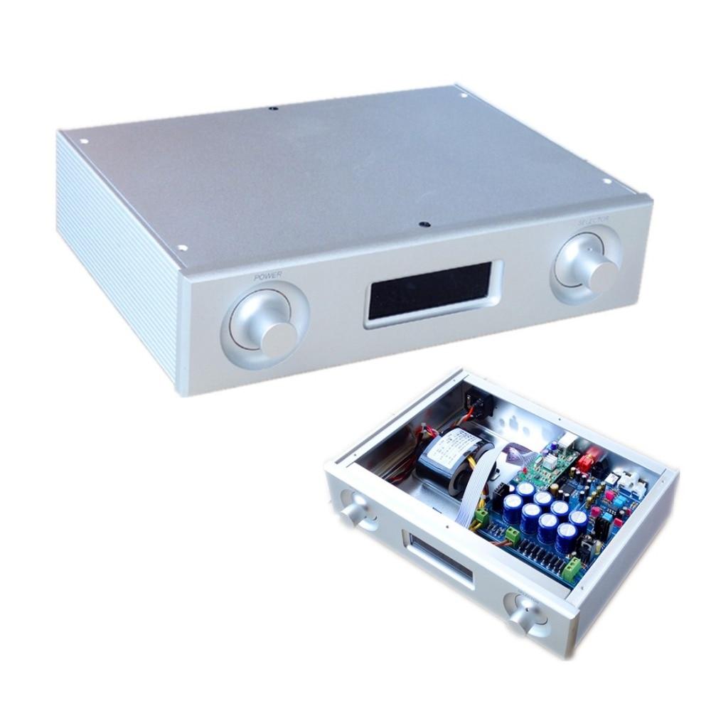 flagship HiFi level DAC AK4495 Audio decoder chip USB coaxial fiber / Analog Converter AK4495SEQ DAC new finished dac10 pcm1794 decoder hifi coaxial fiber usb to xlr output audio dac decoder