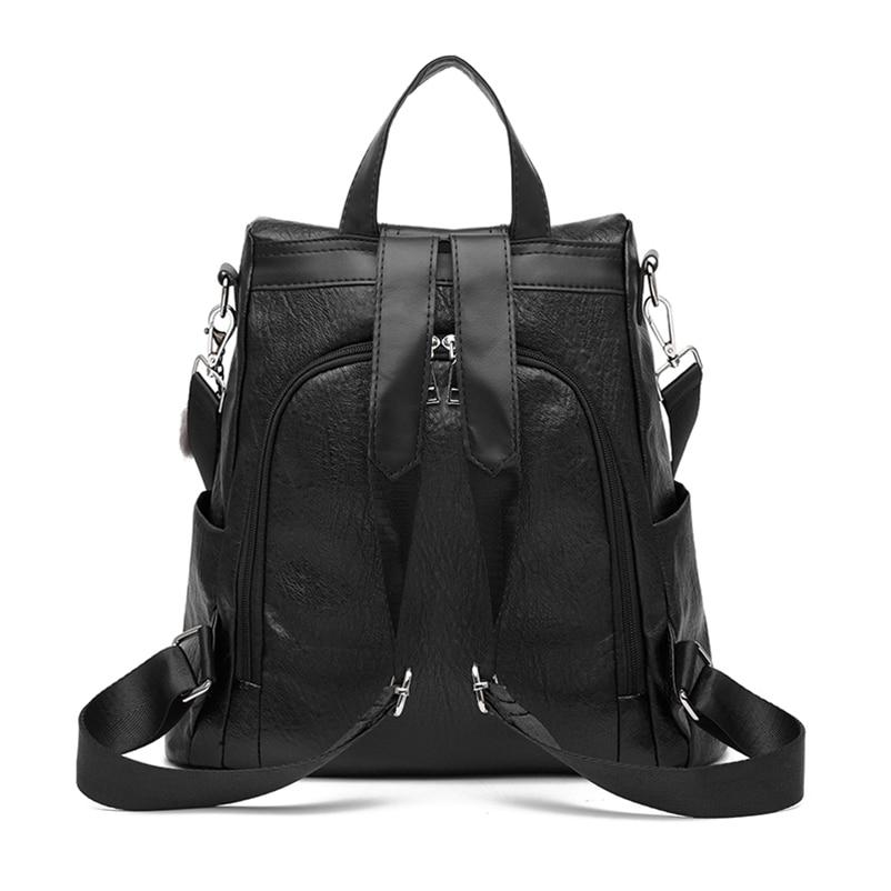 Nevenka 2018 Women Backpacks Fashion Leather Satchel Bags Sac Zipper Bags Casual Shoulder Bags Mochila12