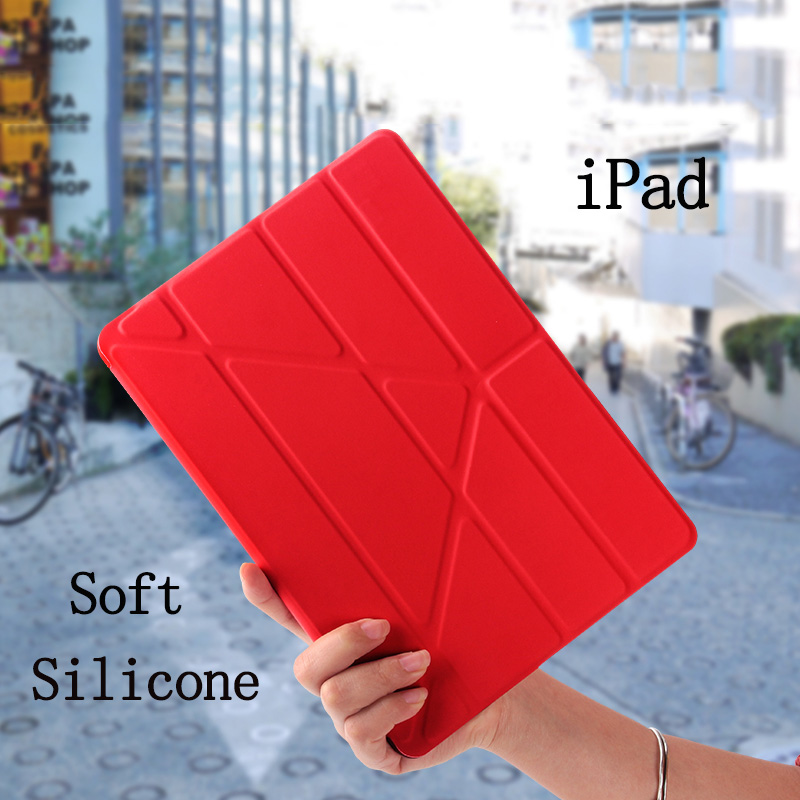 Case For New iPad 9 7 inch 2017 2018 Case YiPPee Color PU Smart Luxury Cover For A1822 A1823 A1893 A1954 Magnet Sleep Wake Up in Tablets e Books Case from Computer Office