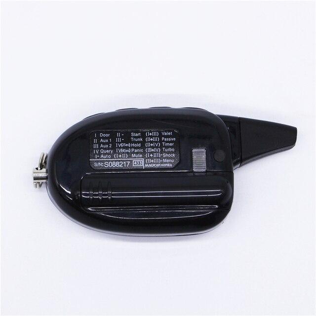 Magicar 101 système dalarme de voiture à deux voies | version anglaise, LCD, télécommande magicar 100 scher khan