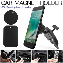 Universal Car Dash CD Slot Magnetic Phone Holder Stand Mount for iPhone Samsung