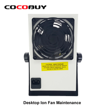 NOVECEL Desktop Ion Fan Maintenance Dedicated Fan Ionizing Air Blower with UK Plug Cable