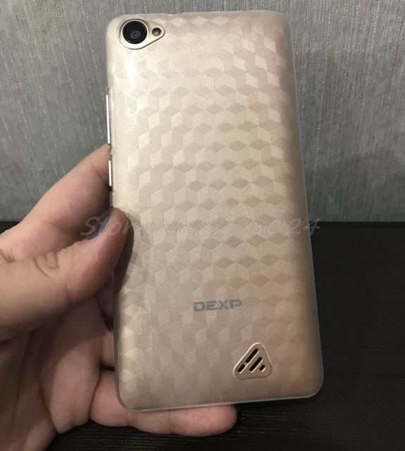 """Nueva funda protectora de PC trasera dura para teléfono móvil DEXP Ixion MS550 5 """"carcasa de teléfono"""