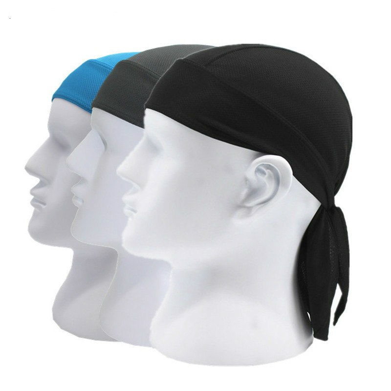 Motorcycle Face Mask Summer Quick-dry Motorcycle Biker Bandana Pirate Cap Head Wrap Do-rag Headwrap Headscarf Hip Hop Head Scarf