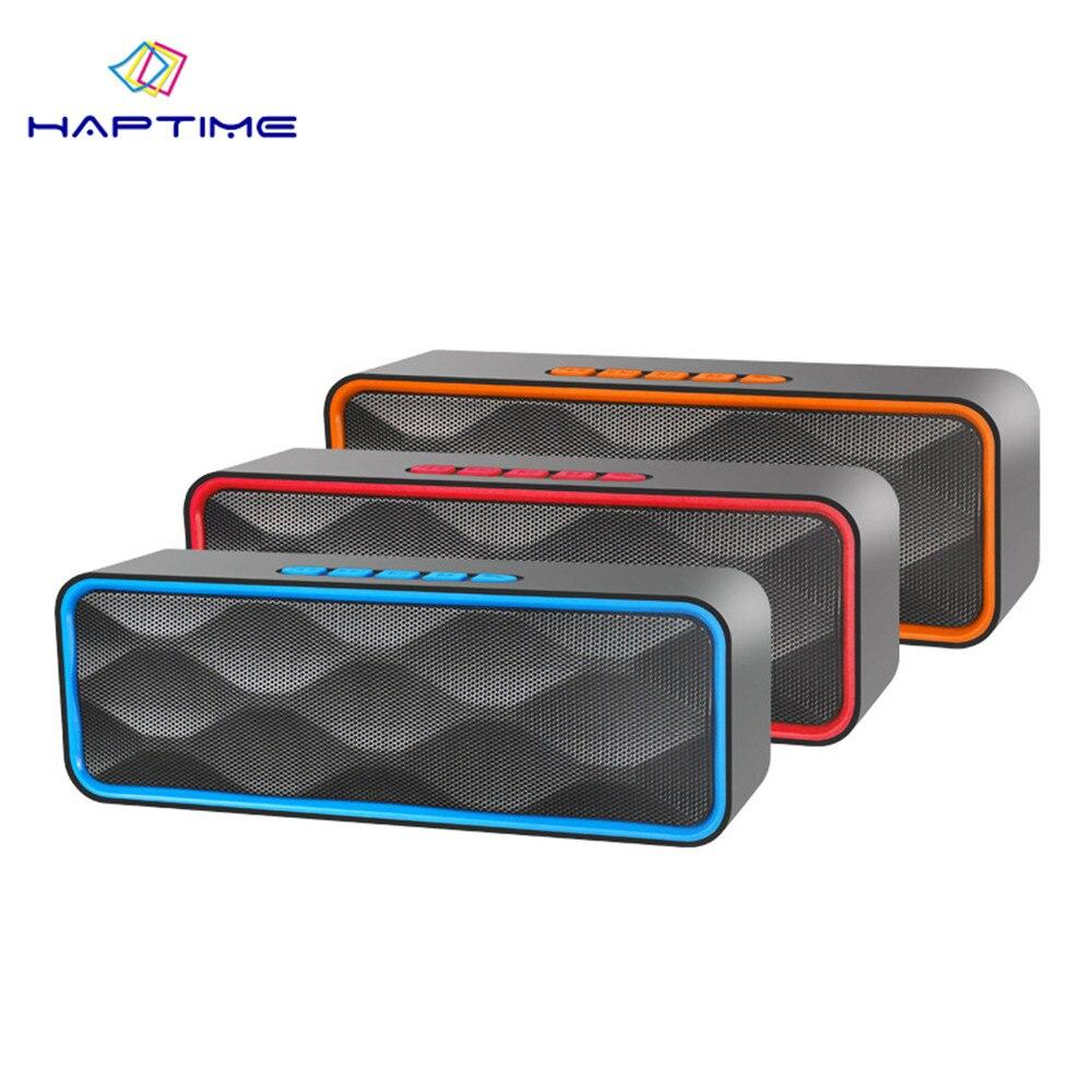 Wireless Bluetooth Speaker Portable Mini Speaker HIFI Stereo Loudspeaker Outdoor Sport Sound Box Support FM Radio TF Card