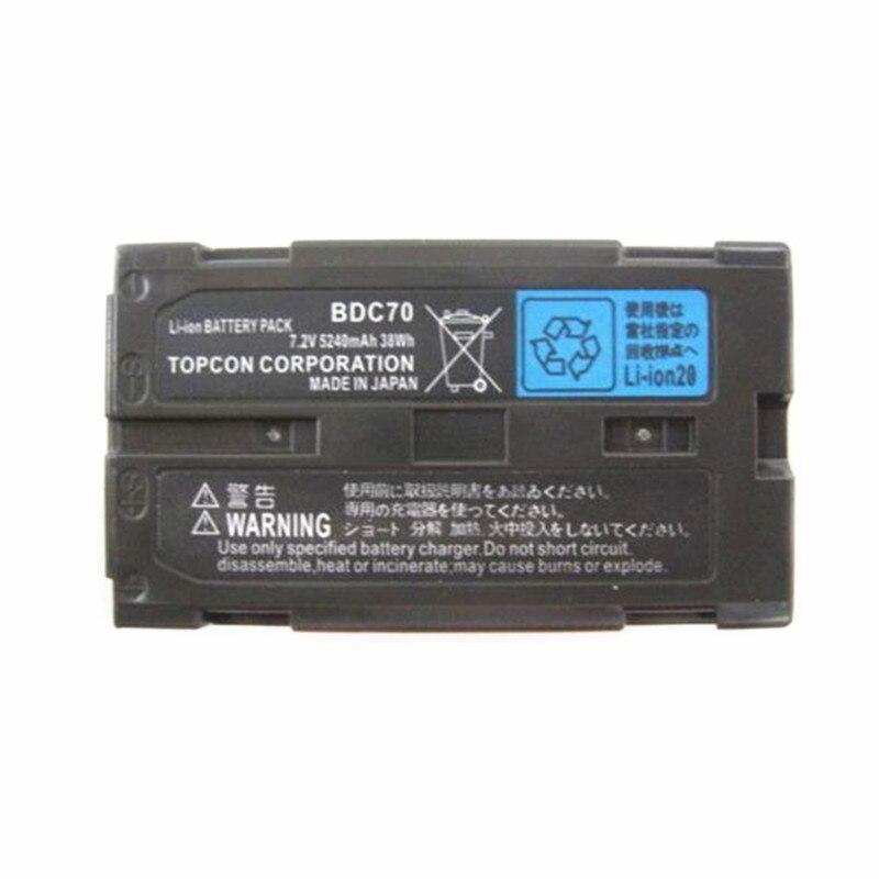 BDC70 Li Ion Batterie Pour Topcon Sokkia Stations Totales Robotique Stations Totales