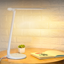 iwhd modern led desk lamp wooden deer table lamps creative lovely fixtures for children study room bedroom bar lamparas de mesa 40 LED Bulbs Desk Lamps 3 Level Table lamps Touch Dimmer Reading Lamps For Study modern led white ABS lamparas de mesa 9W T13