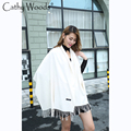 Scarf White Luxury Brand CASHMERE Scarf with Tassel Scarf Warm Shawl for Women Echarpe Blanket Scarf Wrap Shawl Pashmina Shawl