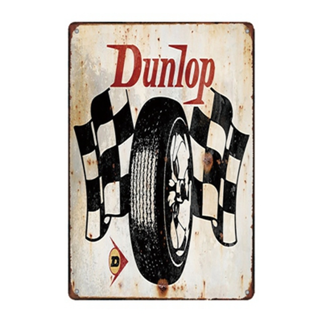 Series of Route 66 Tin Sign 8