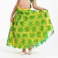 8 Color New Design Children Belly Dance 1 Pcs Skirt Indian High Class Kids Bellydance Wear