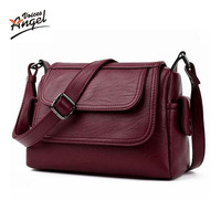 Angel Voices Brand 2017 Spring Summer Fashion Crossbody Bags Single Shoulder Bags Ladies PU Leather Bags