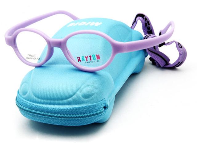 """Envío gratis """" Micra """" niños diseñador de la marca gafas de fibra de carbono oculos niños MQ003"""
