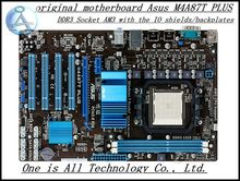 Free shipping original desktop motherboard for asus M4A87T PLUS DDR3 Socket AM3 support 8G RAM free shipping