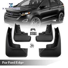 X Autohaux Wholesale Pcs Of Black Plastic Car Front Rear Fender Mud Flaps Mudguards Splash Guards Set For Ford Edge
