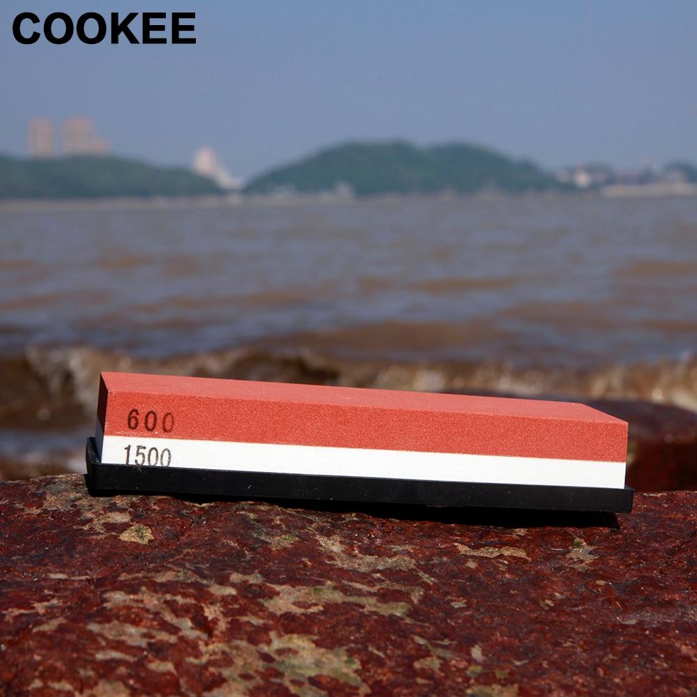 600/1500 # Kiváló minőségű kétoldalas kés-hegyező köszörű - Konyha, étkező és bár