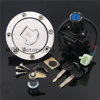 Motorcycle Ignition Switch Gas Cap Seat Key Lock Set For Honda CBR600 2007 2016 CBR1000 2008 2016 2015 2014 2013 2012 2011 2010