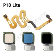 Home Back Button Fingerprint Sensor Flex Cable For Huawei P1