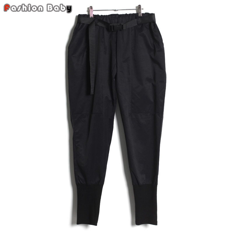 Tapered Black Pants