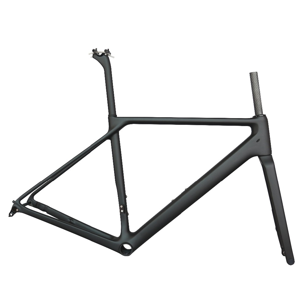 SERAPH Bike Flat Mount Disc Carbon Road Frame  Bicycle Frameset FM009 Axle Thru  , New EPS Technology Disc Road Bike Frame