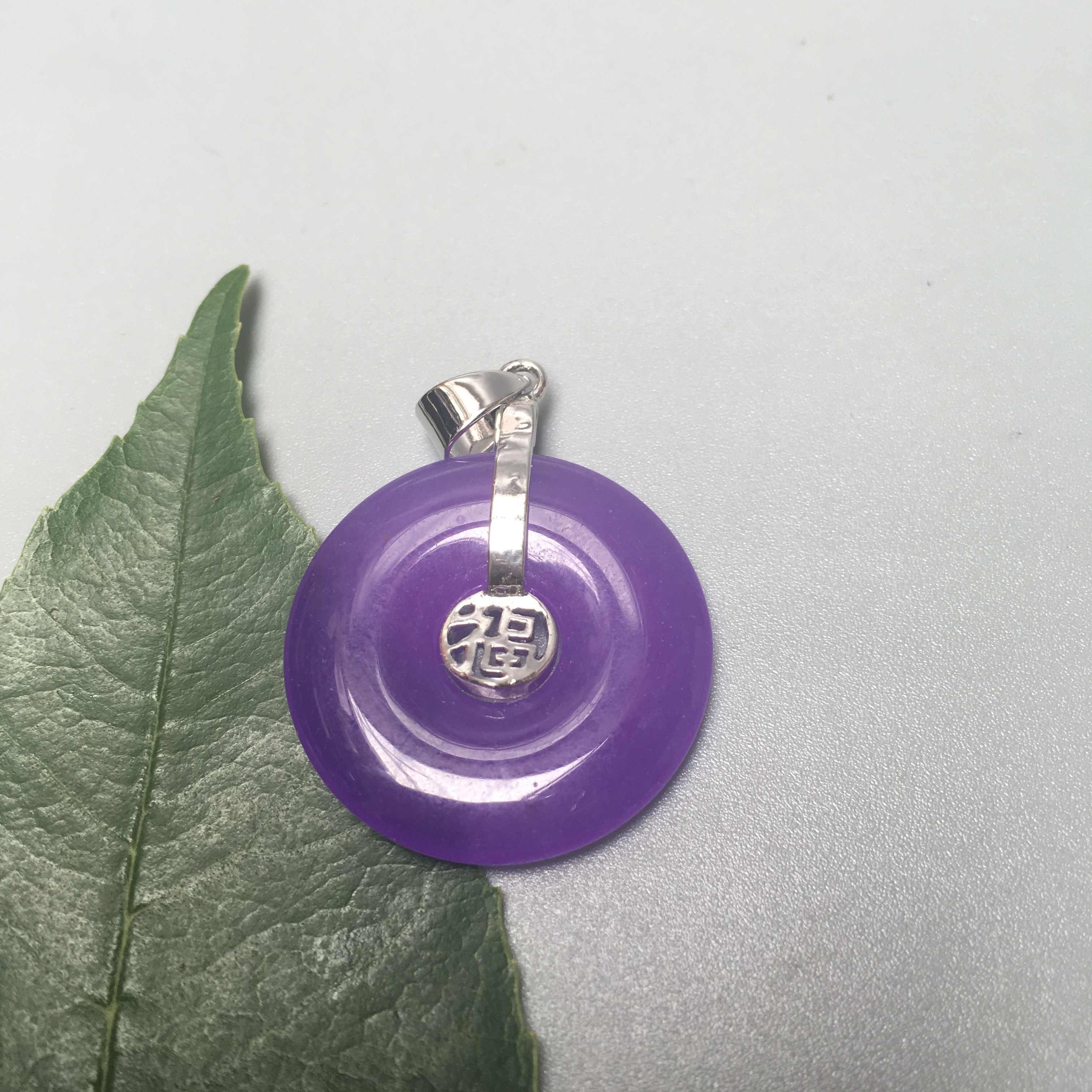 Mais cor Dragão de Prata Redonda do Pendente da jóia Colar fivela de Segurança dar cadeia