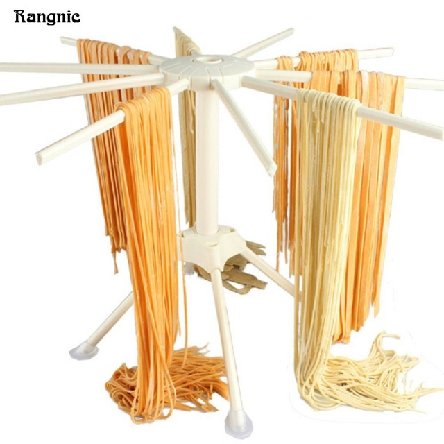 10 Arms Plastic spaghetti drying rack Collapsible pasta maker Household noodle making machine kitchen drying rack holder P30