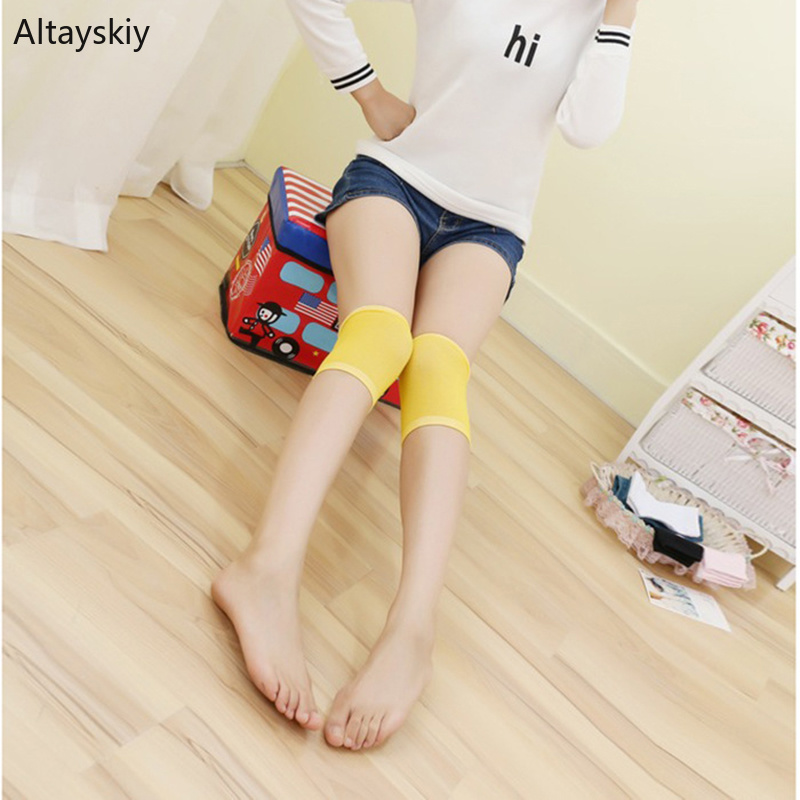 Knee Sleeve Women Soft Solid Simple Cotton Breathable High Quality And Elasticity Womens Colorful Ladies Elegant All-match Chic
