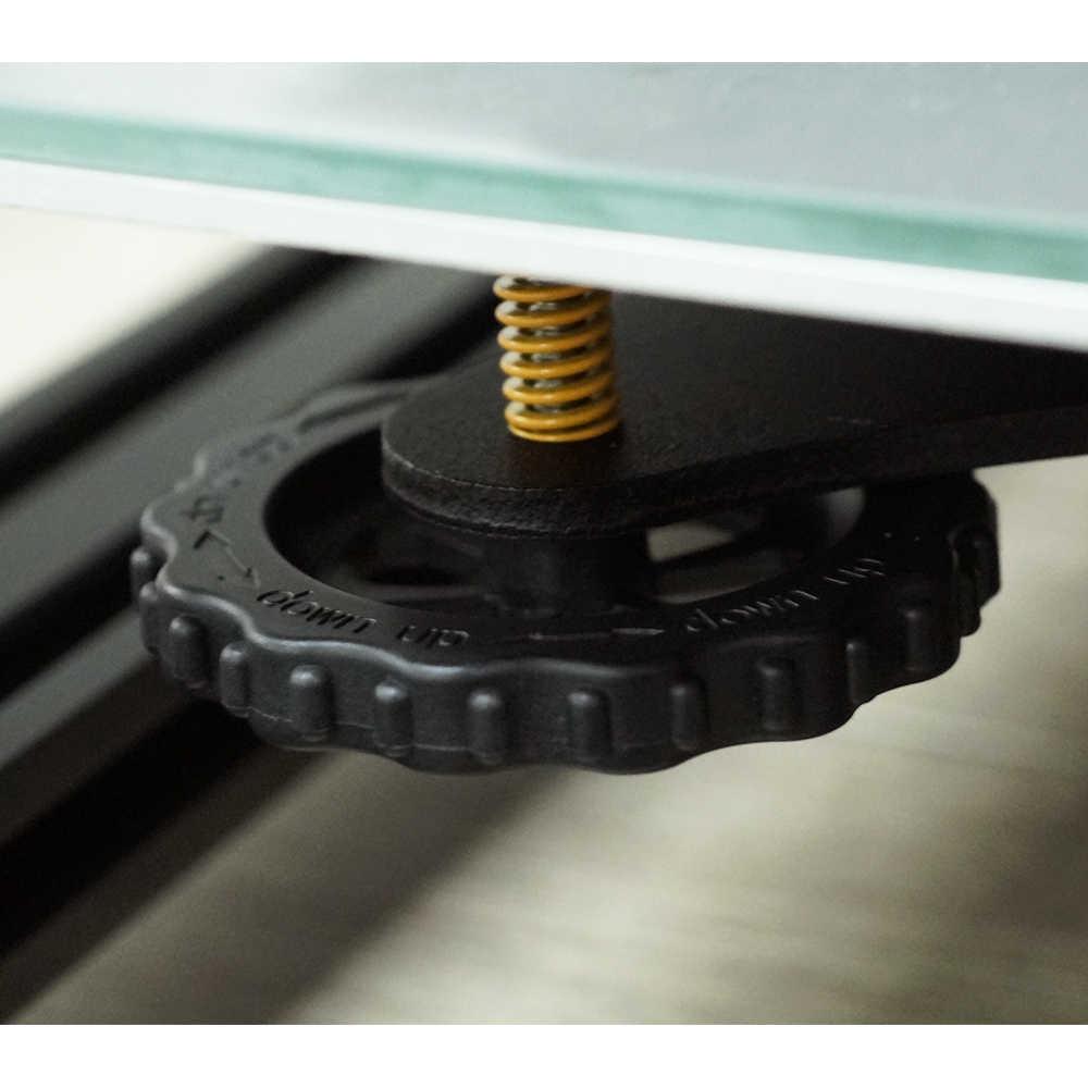 Anet 4 Pcs 3D Printer Aksesoris Upgrade Besar Tangan Twist Auto Meratakan Kacang untuk Creality CR-10 CR-10S Mini Ender 3 3D Printer