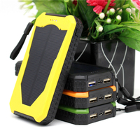 HK LiitoKala Lii-D003 Solar Power Bank 20000 mAh Dual USB Zigarettenanzünder Handy-ladegerät Portable Externe Batterie für Telefon