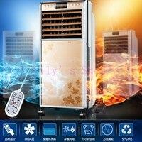 Refrigeración y Calefacción Pequeño mini control remoto de aire acondicionado ventilador eléctrico silencioso ventilador de refrigeración refrigerador de aire calentador de la UE EE. UU. enchufe