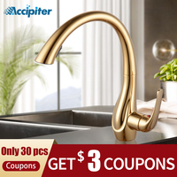 Kitchen Faucet Pull Out Cold&hot Gold Kitchen Tap Single Handle 360 Degree Water Kitchen Mixer Tap Torneira Cozinha