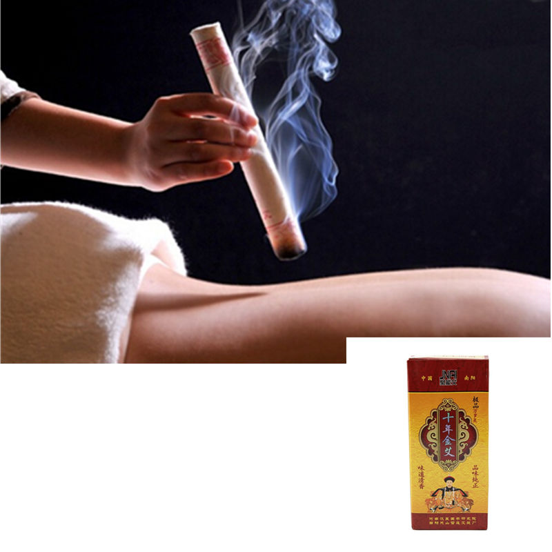 Ten Years Old Moxa Roll Chinese Pure Mox Roller Stick Rolls Moxibustion Mugwort Moxa Artemisia Acupuncture Massage Therapy 30pcs set new arrive smokeless moxa stick handmade acupuncture massage moxibustion moxa wormwood
