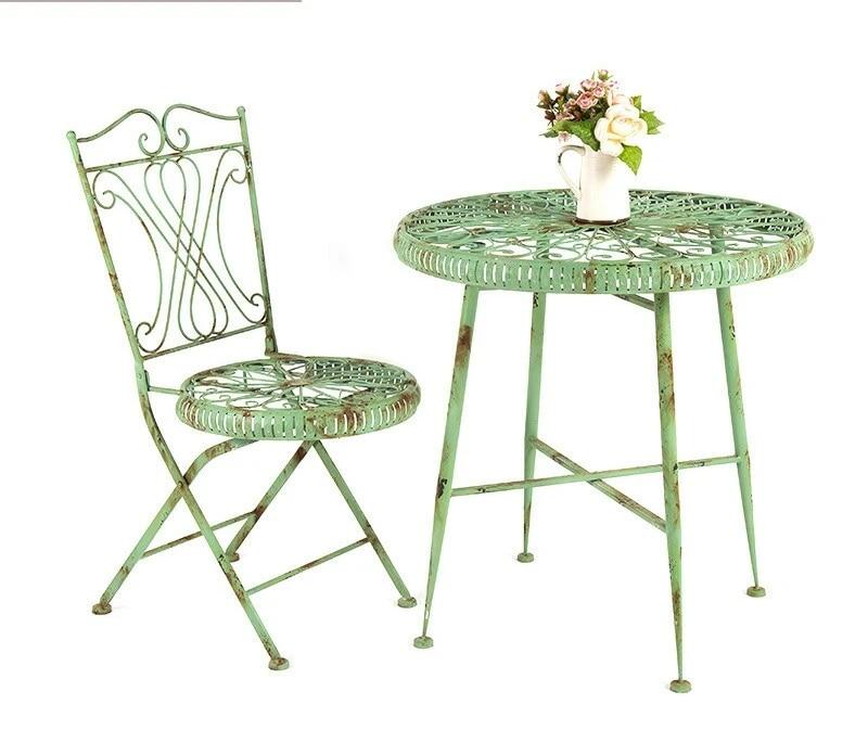 garden set outdoor furniture patio furniture foldable garden furniture muebles jardin exterior metal 2 chairs 1 table sets new