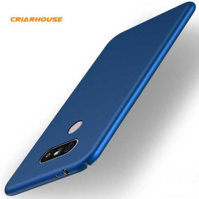 CRIAR HOUSE Color Slim Smooth Matte Hard PC Plastic 360 Full Protective Cover Case For LG G7 ThinQ G5 SE G6 V30 Plus Dual Cases