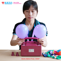 B362 Free Shipping Foot Pedal Digital Electric Balloon Pump