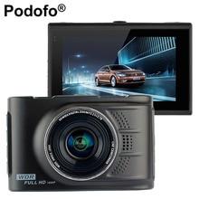 Podofo Видеорегистраторы для автомобилей Камера dashcam 3.0 дюймов Full HD 1080 P видео Регистраторы WDR регистратор fh03 Автомобиль Blackbox Автомобильные видеорегистраторы регистраторы