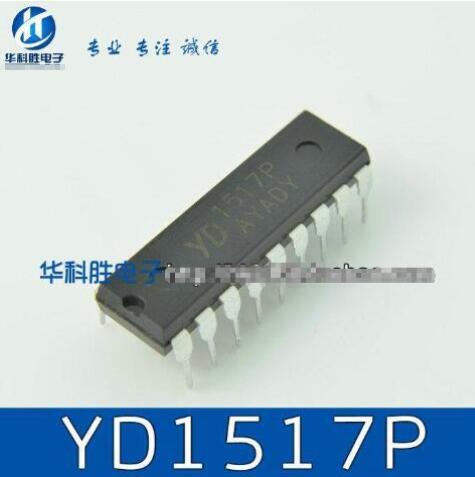 1pcs/lot TDA1517P TDA1517 1517P 1517 DIP18 TDA1517P = YD1517P UTC1517
