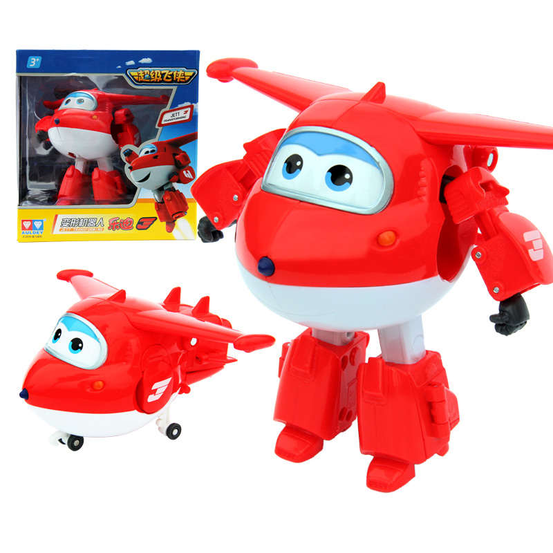 Deformation-Jet-Robot Action-Figures Super-Wings ABS Children Gift Brinquedos 12CM Big